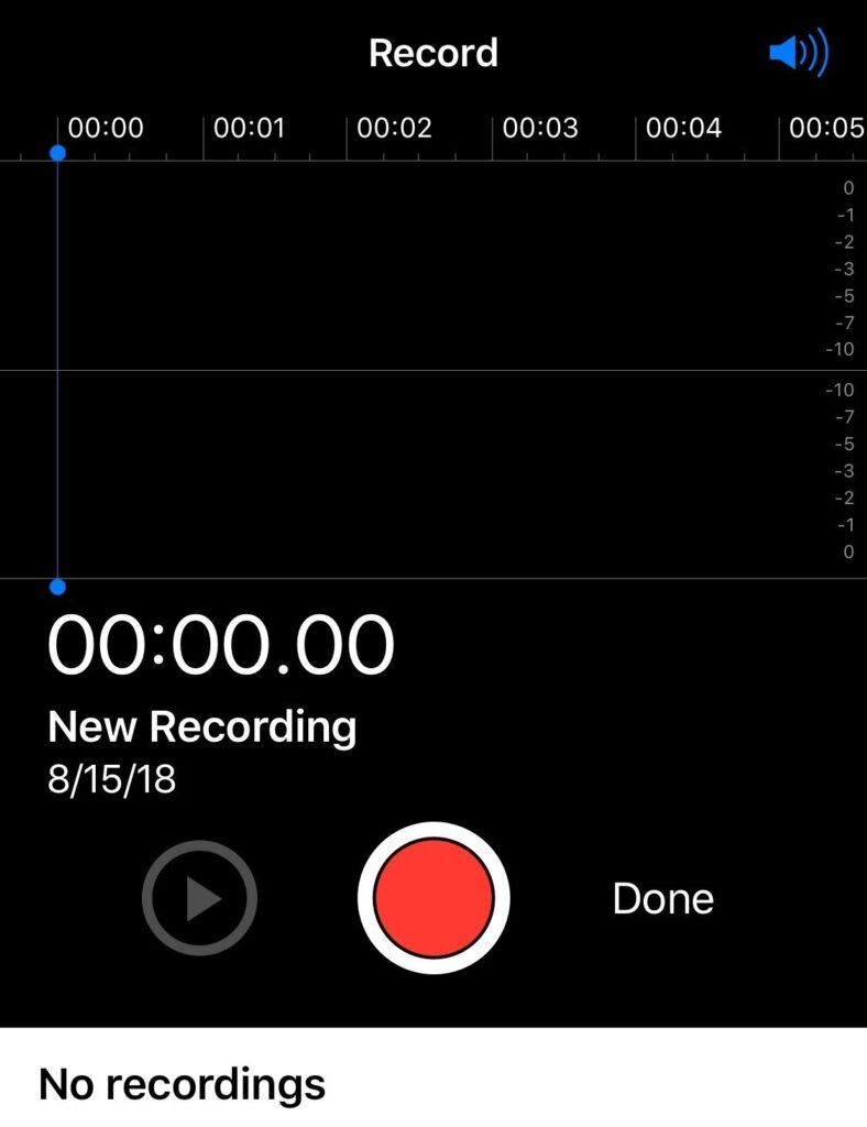 Secret Recording
